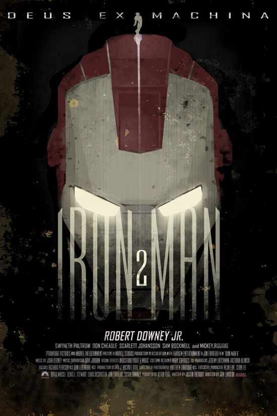 Iron Man 2 - 12x18 - Movie Poster - by Duke Dastardly