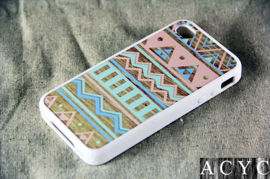 Color Seamless wood iPhone 4 iPhone 4S Case