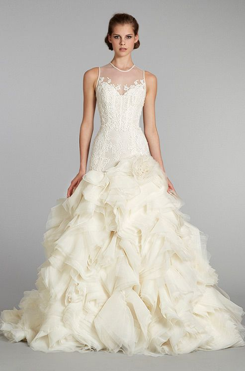 #wedding dress from Lazaro, Fall 2012