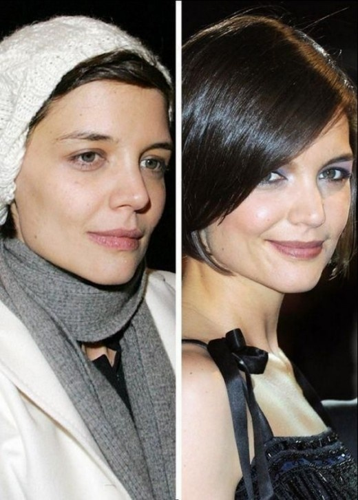 Female Celebrities Without Makeup