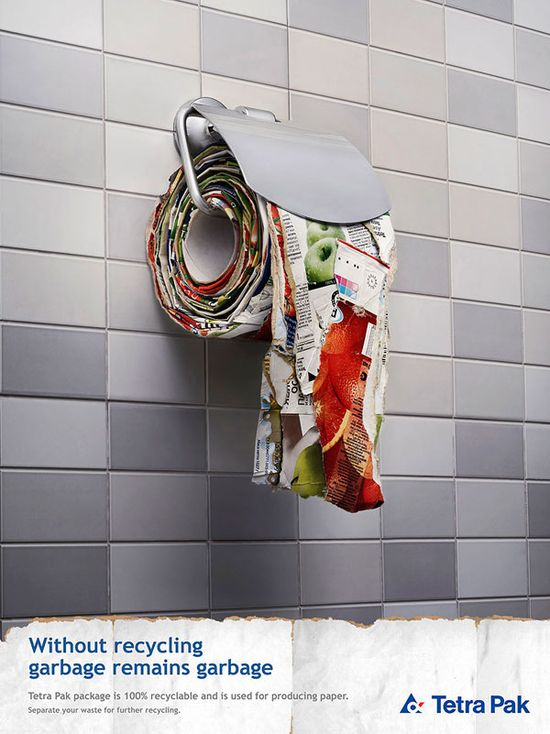 Recycling ad!  #ad