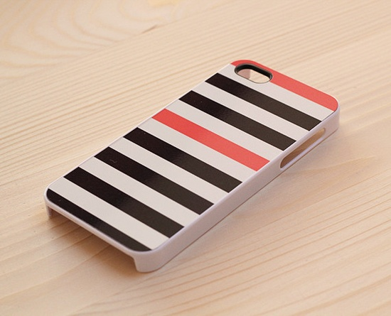 striped iphone cover