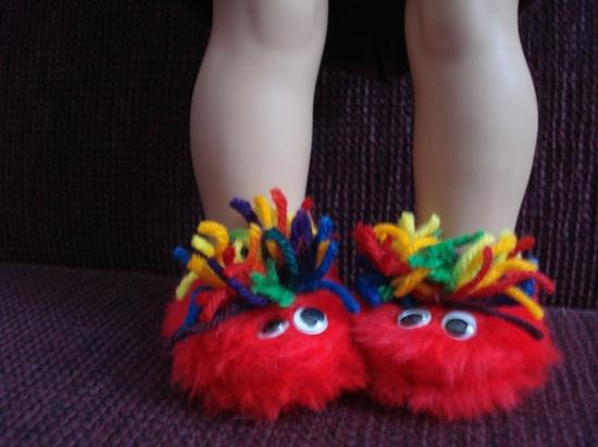 American Girl Critter Slippers