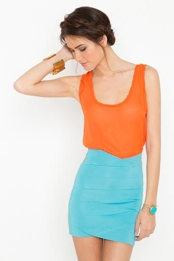 Love the skirt ?