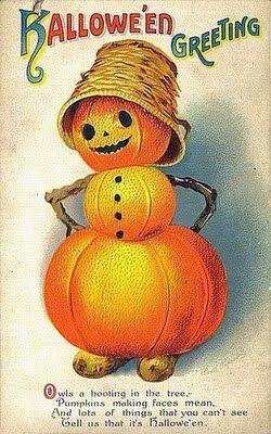 Halloween Greeting vintage #vintage #halloween