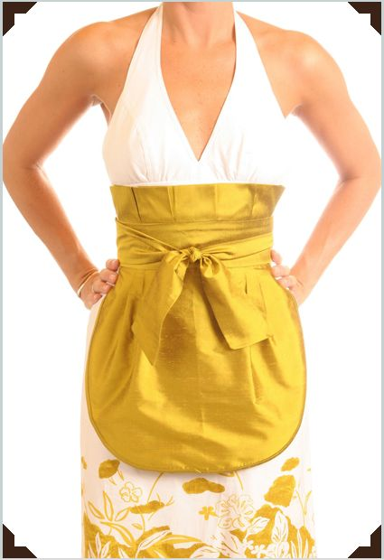 Aprons, aprons and more aprons
