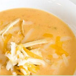 Great CrockPot Chicken Tortilla Soup