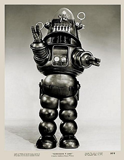 """1956 - """"Forbidden Planet"""" - Robbie!"""