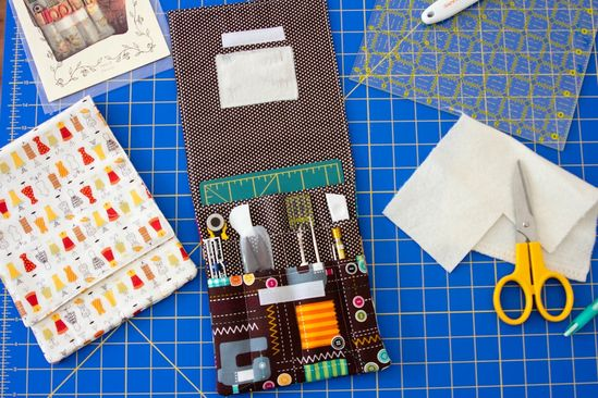 DIY: travel sewing case