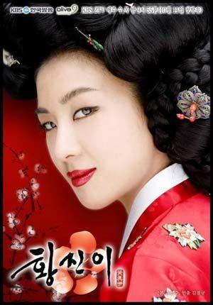 Hwang Jin Yi - Korean Drama about gisaeng, Korean geisha.