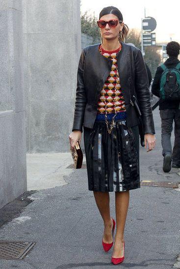 Milan Fashion Week Fall 2012  Giovanna Battaglia