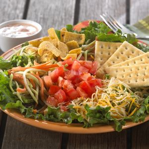 Try this 10-minute Southwestern Salad for a delicious meal in a snap.
