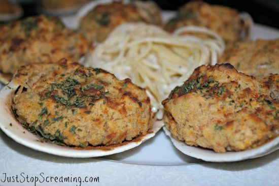 Grilled (or baked) Stuffed Clams #Seafood #Cooking #Recipes