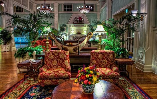 Disney Resorts -- Disney's Boardwalk - The Lobby
