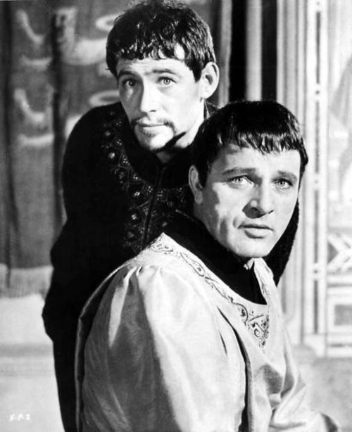 "Peter O'Toole and Richard Burton, Publicity Shot from the Film Version of Jean Anouilh's ""Becket     1964"