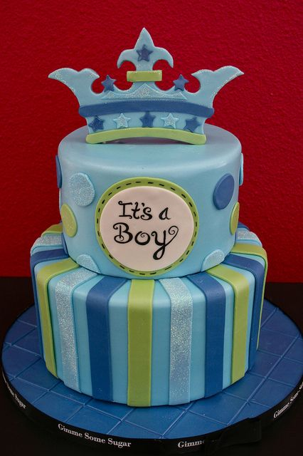 It's a Boy Cake by Gimme Some Sugar (vegas!), via Flickr