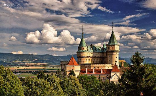 Bojnice Castle, city of Bojnice