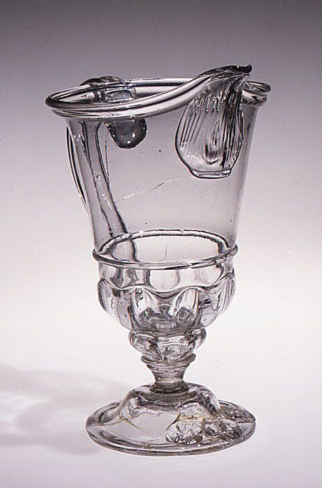 Ewer, late 17th century  French (Normandy)