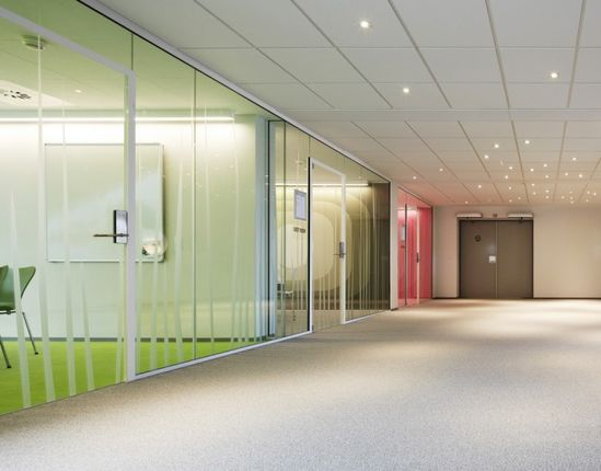 LEGO offices in Denmark. Interesting partiiton system making features of the doors
