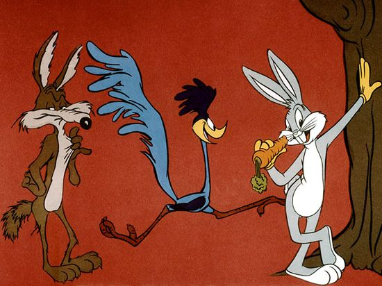 Saturday morning cartoons The Bugs Bunny / Roadrunner Show