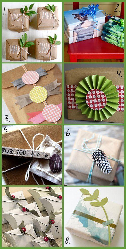 Soap Deli News: Handmade DIY Christmas Gift Wrap Ideas