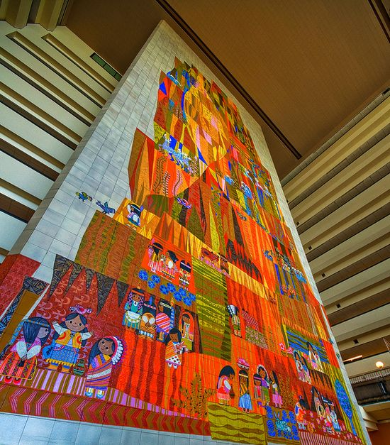Disney Resorts -- Mural at The Contemporary