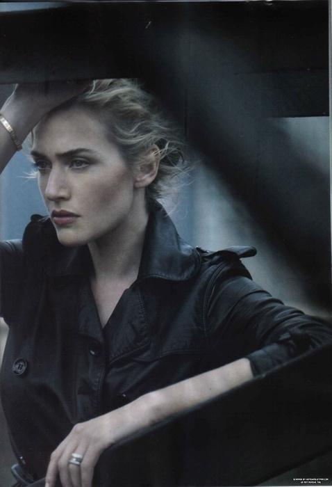 Kate Winslet by Peter Lindbergh - Harper's Bazaar