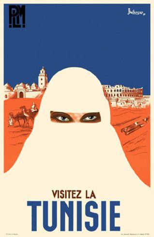 Visitez La Tunisie #travel #poster
