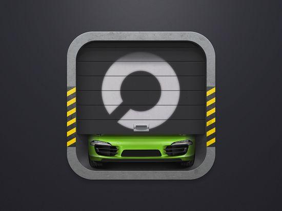 Car Storage iOS Icon