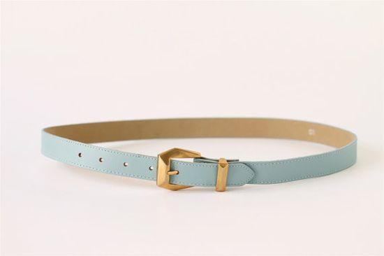 pretty baby blue belt