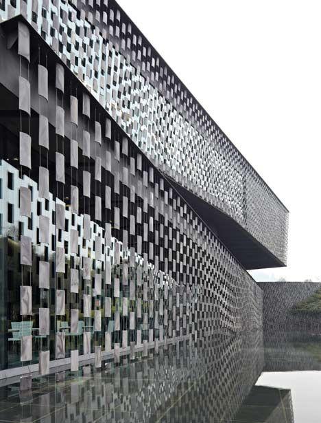 Xinjin Zhi Museum by Kengo Kuma  and Associates