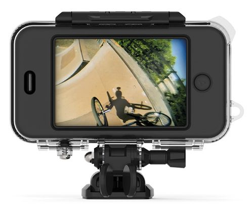 Mophie Outride waterproof iPhone case for action videos - Makes your iPhone work like a GoPro!
