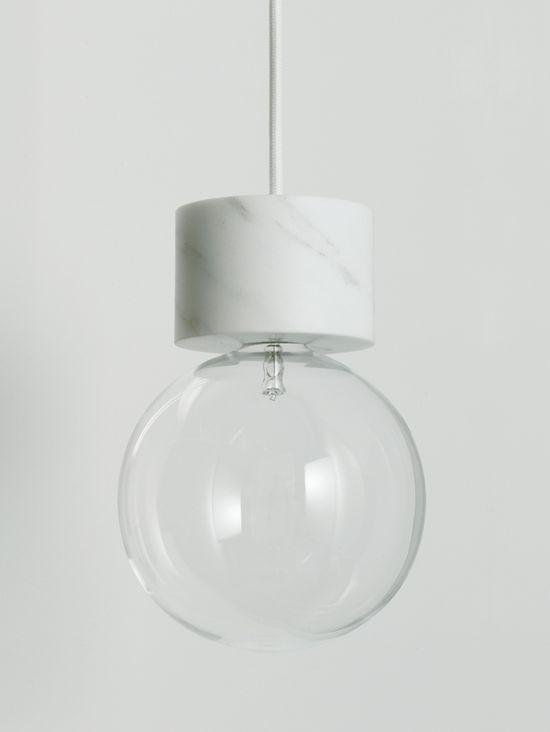 Marble Lights -Vit Studio