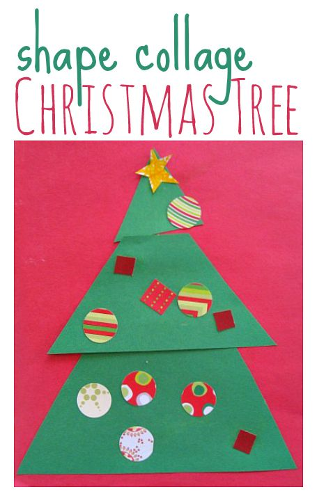 Great easy Christmas tree craft for kids.