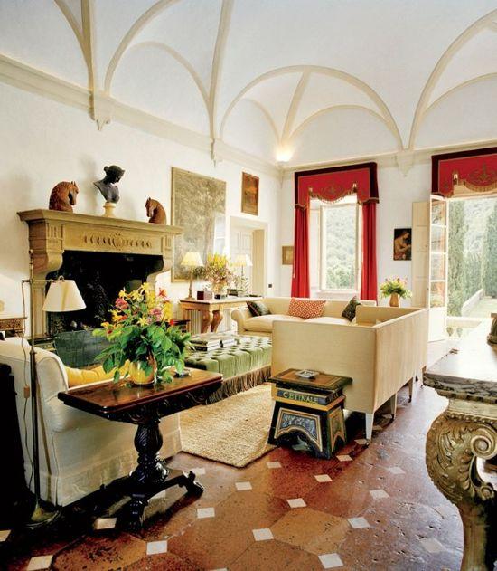 Photos: The Decadent Italian Interiors of Villa Cetinale in Tuscany | Vanity Fair