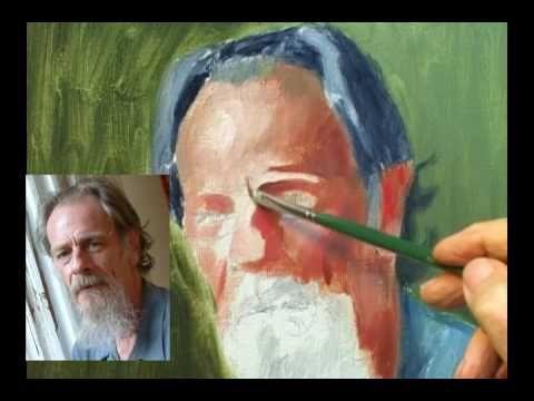 Painting an Oil Portrait Part 1.mp4
