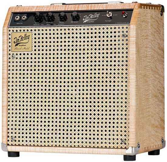 Suhr Jim Kelley 1x12 Combo Amplifier- Single-Channel Model - Limited Edition! dovetail joint maple cab, hand-made at Suhr shop!