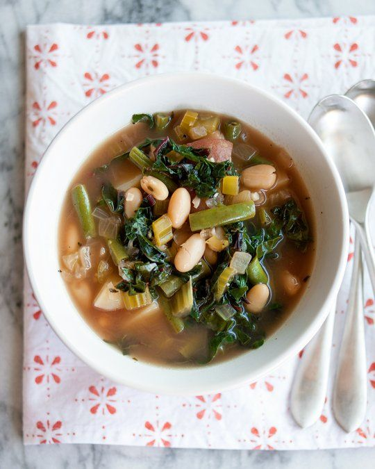 Recipe: Easy Green Minestrone Recipes from The Kitchn