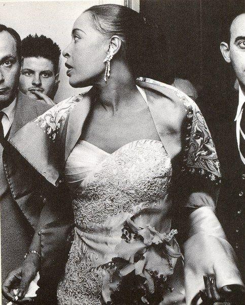 Billie Holiday, november 1958
