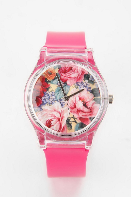 May 28th Glossy Floral Watch