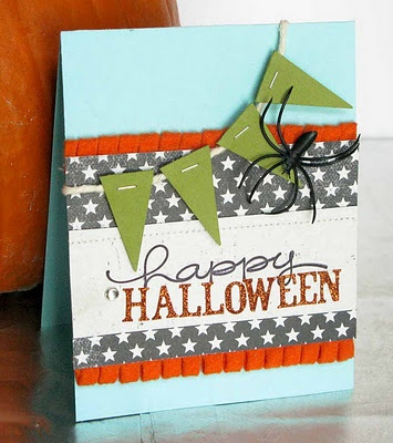 Creepy-Cute Halloween Card by @Alicia Brady Thelin