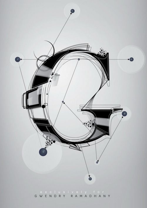 G #typography