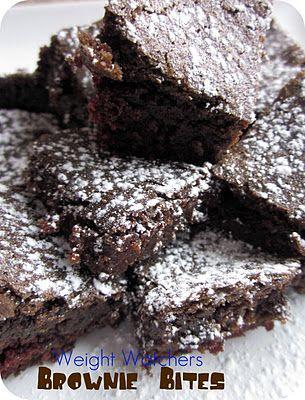 weight watchers brownie bites