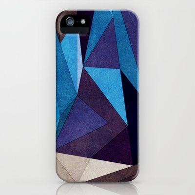Blue Something iPhone Case