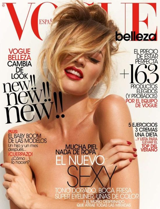 Vogue Spain May 2013 Candice Swanepoel by Mariano Vivanco