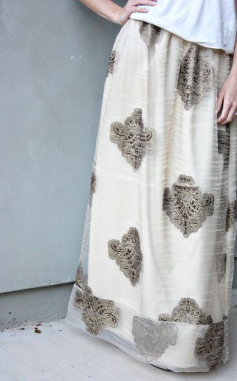 DIY Beginner Sewing - Maxi Skirts