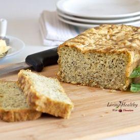 Savory Pesto Parmesan Bread