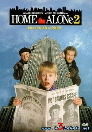 Home Alone 2  FREAKIN LOVE these movies. When they come on during non-Christmas seasons, I still watch em and I get into a Christmassy mood immediately. ;D