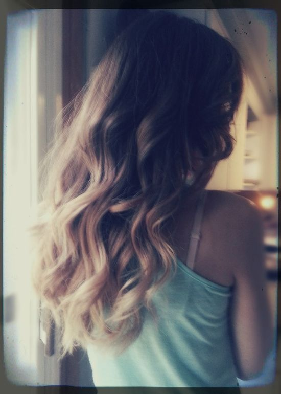 My Ombre Curls