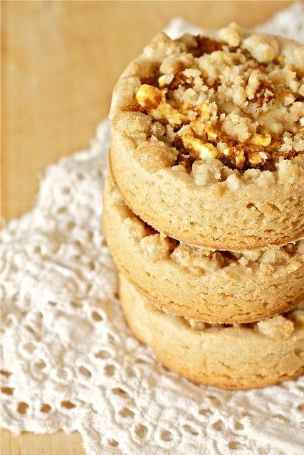 pumpkin spice cream cheese shortbread cookies